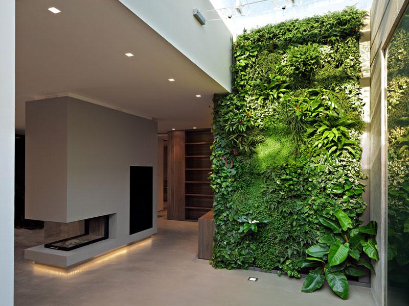 vertikalni vrt u interijeru